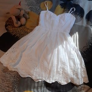 Charlotte Russe Dresses - Strappy Back Summer Dress sz XS